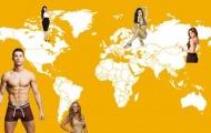 CR7 & bộ sưu tập người tình xuyên châu lục