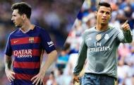 """""""Ronaldo không được tôn trọng như Messi"""""""