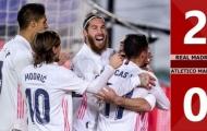 3 điểm nhấn Real Madrid 2-0 Atletico Madrid: Khắc tinh của Simeone