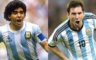 Lionel Messi vĩ đại hơn Diego Maradona