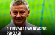 XONG! Đội hình Man Utd đấu PSG: 2 cái tên bị loại