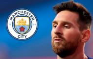 'Man City là bến đỗ tốt nhất dành cho Messi'