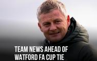 XONG! Đội hình M.U đấu Watford: 1 ca Covid-19, 2 cái tên không ngờ trở lại