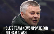 XONG! Đội hình M.U đấu Fulham: 2 cái tên OUT, Solskjaer gây choáng
