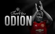 CHÍNH THỨC! Man Utd chia tay Odion Ighalo