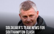 XONG! Đội hình M.U đấu Southampton: Solskjaer gây sốc