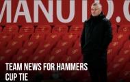 XONG! Đội hình Man Utd đấu West Ham: 3 cái tên OUT