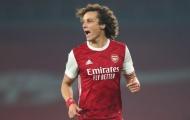 Nhìn David Luiz thi đấu, 'viên ngọc quý' khó lòng được trọng dụng ở Arsenal