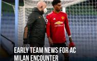 Lực lượng toang mạnh, M.U trình làng gương mặt mới đấu AC Milan