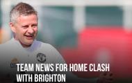 XONG! Đội hình M.U đấu Brighton: 2 cái tên trở lại, 3 OUT!