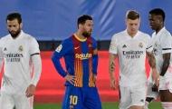 Lionel Messi kéo dài kỷ lục tệ hại ở El Clasico