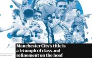 Vô địch, Man City đi vào lịch sử Premier League