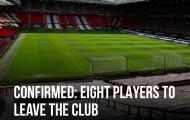 CHÍNH THỨC! Man Utd cùng lúc đẩy đi 8 cái tên khỏi OTF