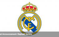 Real Madrid chính thức thông báo vụ Varane - Man Utd