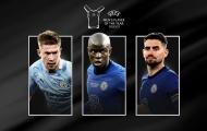 CHÍNH THỨC! UEFA công bố ƯCV cầu thủ hay nhất mùa: Không Ronaldo, Messi