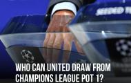 Man Utd đụng độ ông lớn nào ở vòng bảng Champions League?