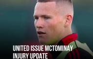 CHÍNH THỨC! Thông báo về McTominay, M.U có thể phải ký tân binh thứ 4