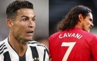 Xác nhận! Cavani có động thái bất ngờ với Ronaldo về chiếc áo số 7
