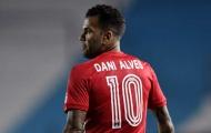 CHÍNH THỨC! Dani Alves bất ngờ thất nghiệp