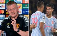 Solskjaer giải thích lý do rút Ronaldo, Fernandes ra nghỉ