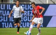 Đá trận ra mắt, con trai Maldini ghi bàn giúp AC Milan chiếm ngôi đầu