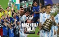 CHÍNH THỨC! Ý đại chiến Argentina tranh Siêu cúp Liên lục địa