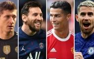 CHÍNH THỨC! Công bố ứng cử viên QBV 2021: Messi, Ronaldo & dàn sao hội tụ
