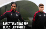 Đội hình M.U đấu Leicester City: Sát thủ trở lại; 4 cái tên vắng mặt
