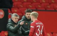 Solskjaer có quyết định cực sốc đối với Van de Beek