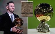 Rò rỉ chủ nhân QBV 2021, không phải Lionel Messi