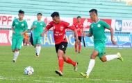 Bảng D VL U21 Quốc gia: Long An vượt qua Bến Tre trong trận cầu 11 bàn thắng