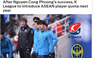Báo châu Á: Công Phượng đã khiến K-League phải thay đổi cả quy chế