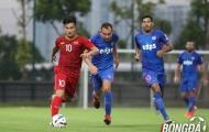 Ghi 2 bàn từ chấm phạt cố định, các sao U22 Việt Nam ghi điểm với thầy Park