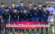 Đã rõ lý do U22 Thái Lan không gọi cầu thủ trên tuổi đá SEA Games 30