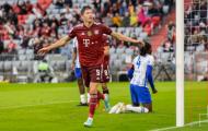 Lewandowski lập hat-trick, Bayern thắng đậm Hertha Berlin