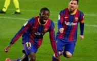 Đại gia xếp hàng chờ, Dembele giải quyết nhanh gọn với Barca