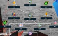 Đội hình tệ nhất vòng bảng Copa America 2016: Thất vọng Brazil