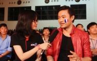 Phỏng vấn diễn viên Quý Bình đêm chung kết EURO