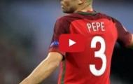 Pepe phòng ngự cực hay trong trận chung kết EURO 2016