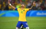 Bây giờ, Neymar đã trở thành bất tử