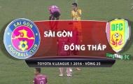 Sài Gòn FC 4-0 Đồng Tháp (Vòng 25 V-League 2016)