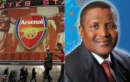 Tỷ phú giàu nhất châu Phi muốn mua Arsenal