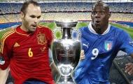 Những trận cầu kinh điển (Kỳ 7): Ý vs Tây Ban Nha - Chung kết Euro 2012