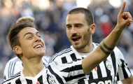 Juventus xác nhận sắp 'trói chân' Bonucci và Dybala