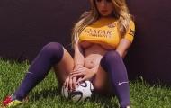 Barca được nữ fan cuồng tiếp sức trước trận Man City