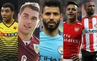 10 tiền đạo 'bén' nhất giải Ngoại hạng (Phần 1): Aguero xếp thứ 9, Sanchez thứ 7