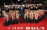 Sao NHA ùn ùn kéo đến lễ ra mắt phim của Usain Bolt