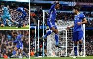 Costa truyền cảm hứng, Chelsea ngược dòng thắng đẹp Man City