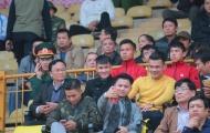 HLV Hữu Thắng, Công Vinh đến sân Vinh xem SLNA đấu XSKT Cần Thơ