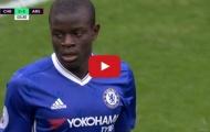 N'Golo Kante chơi cực hay trong trận Chelsea 3-1 Arsenal